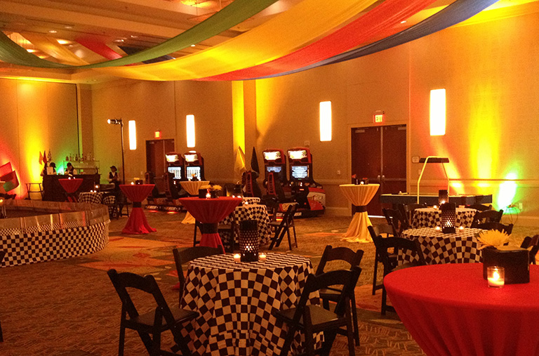 Interactive NASCAR Gaming Event | North Carolina Corporate Event Planner