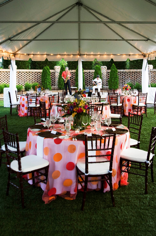 Outdoor Corporate Dinner | Raleigh Corporate Events