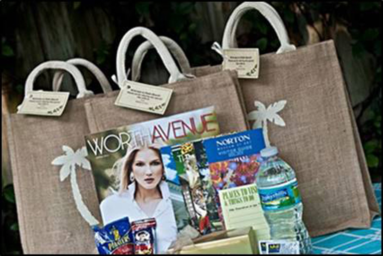 Event Swag Bags - Palm Beach Incentive Travel