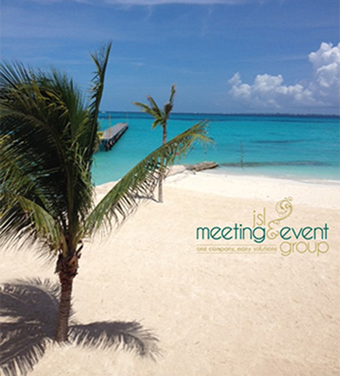 Custom Event Branding - Incentive Travel Planner