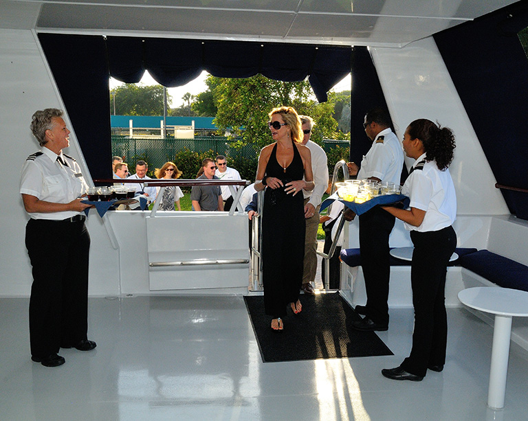 Chartered Yacht Events