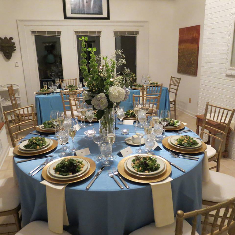 Intimate Rehearsal Dinner at Private Residence