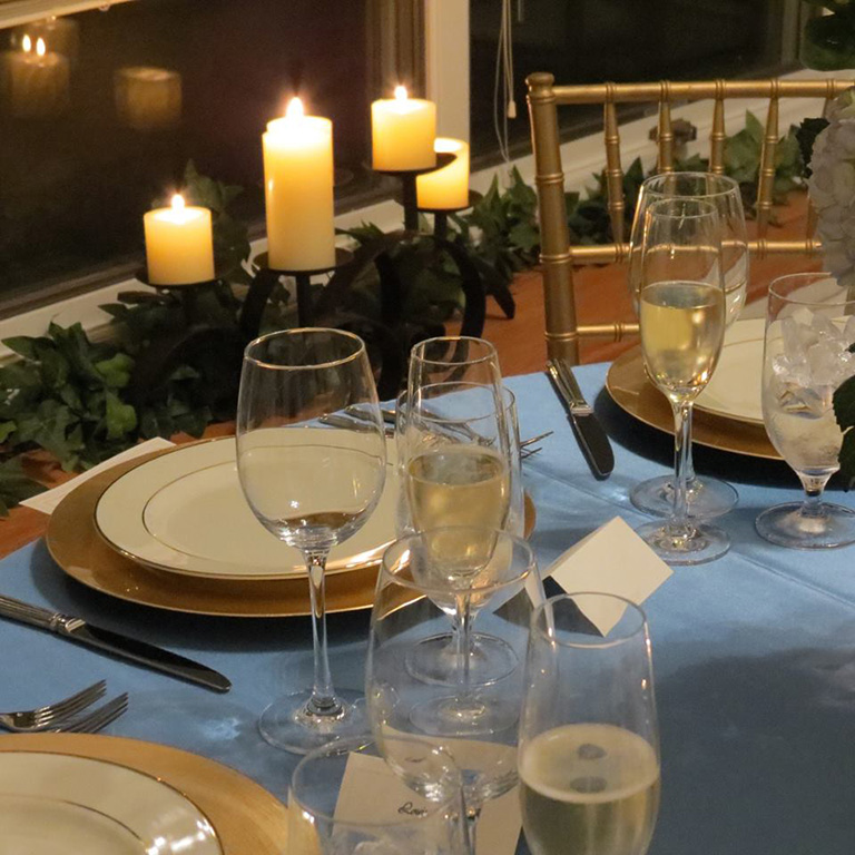 Intimate Rehearsal Dinner in Private Residence