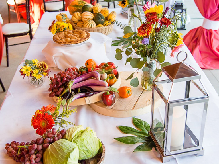 Creative Food Displays - Event Design