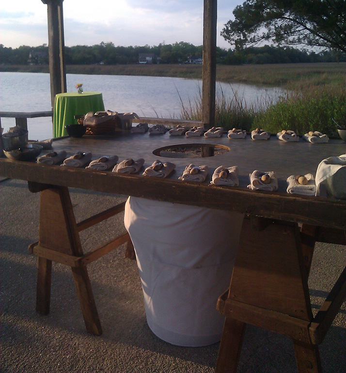 Oyster Shucking Station - Charleston Event Planner