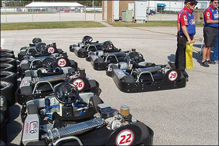 Competitive Go-Cart Teambuilding