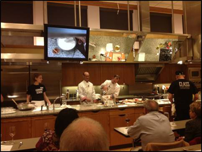 Interactive Events - Cooking Demos