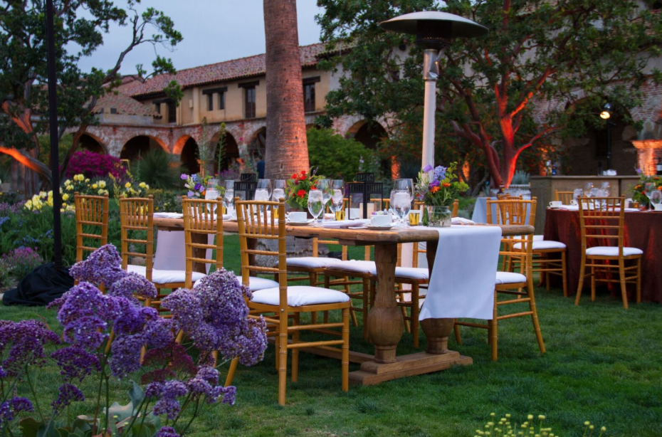 Corporate Dinner at Mission Capistrano in Southern California | Incentive Travel Planner