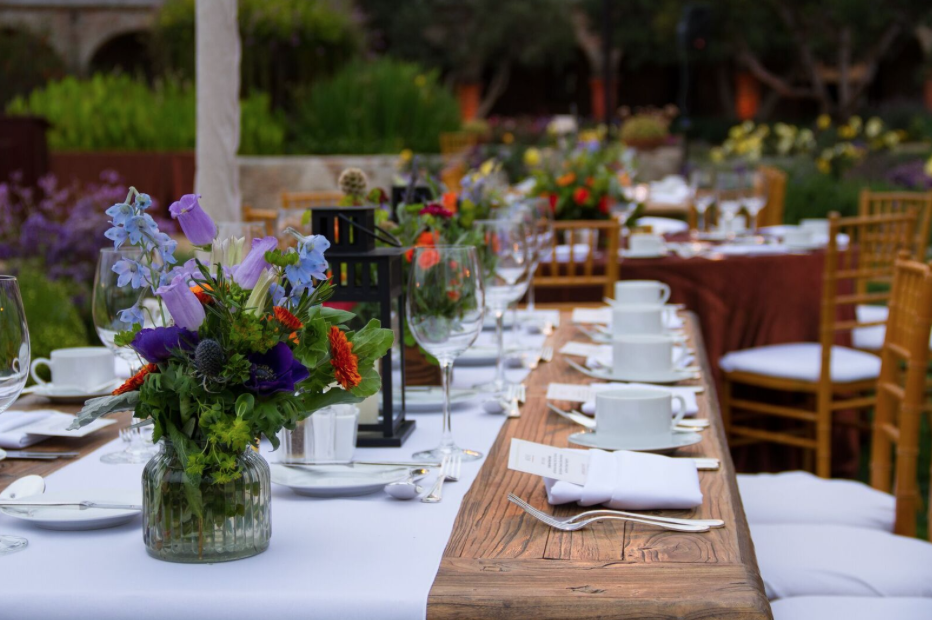 Elegant Rustic Corporate Dinner at Mission Capistrano - Southern California Events